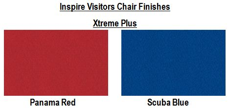 Inspire Visitors Chair Finishes