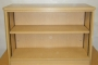 FAB Bookcase English Oak 25mm
