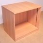 FFC Desk High Open Fronted Cupboard