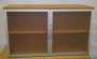 Designer Top Unit Acrylic Doors Cherry 25mm