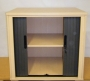 Desk High Tambour 25mm in Japanese Ash