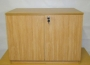 FAB Two Door Beech Cupboard 990mm Wide, 25mm Top
