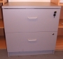 FAB Two Drawer Storage Unit Grey